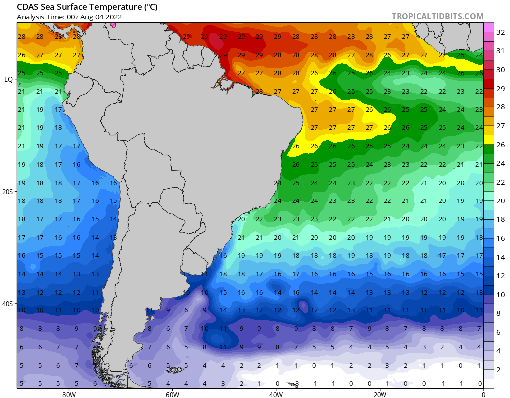 Temperatura Superficie del Mar