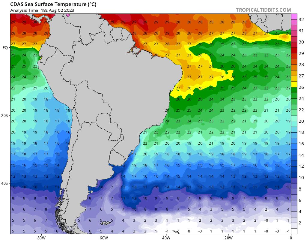 Temperatura Superficie del Mar
